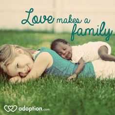 Love makes a family. #adoption