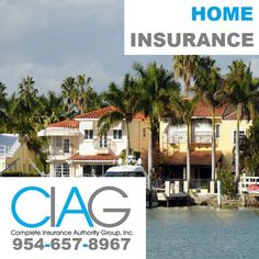 (954) 657-8967 Home Insurance in Parkland FL: Get Insured by CIAG. http://insurancepompano.com/insurance-parkland/ #homeinsuranceParklandFL