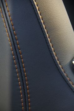2014 Jaguar F-TYPE V8 S Interior Stitching Detail.