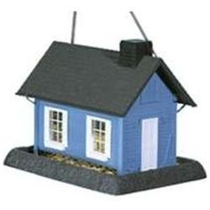 North States Industries 9065 Large Blue Cottage Birdfeeder Blue Cottage - Each