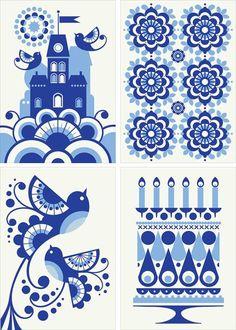 Fun pattern illustrations.