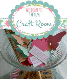 Creative Ladies Ministry Craft Room:  Various craft ideas for Womens Ministry