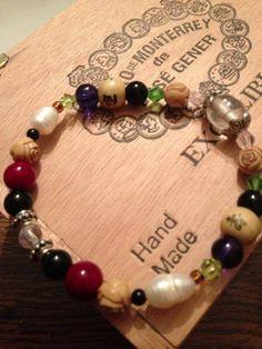 Went vintage on this one. Some seriously old beads on here.   Burt's Bracelets https://www.facebook.com/BurtsBracelets