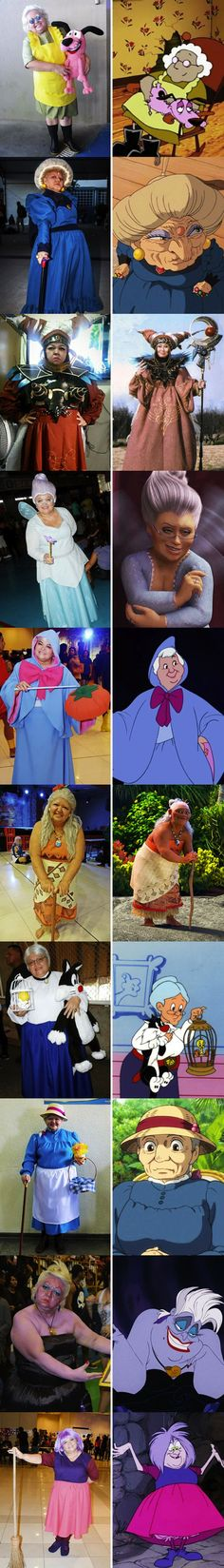 You are never too old for cosplay!