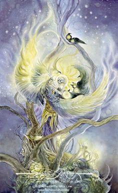 Art Print - Dark Phoenix by Stephanie Pui-Mun Law