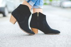 OUTFIT: ISABEL MARANT DICKER ANKLE BOOTIES