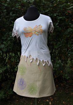 Diy Shirt, Diy Clothes, Shirts, Fashion, Diy Clothing, Moda, Fashion Styles, Dress Shirts, Clothes Crafts
