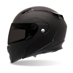 Bell Revolver Matte Black Modular Motorcycle Helmet