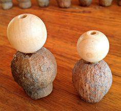 Gumnut Gnome Tutorial | Elfin Trail Aussie Christmas, Australian Christmas, Christmas Decorations Australian, Christmas Decorations To Make, Handmade Christmas, Christmas Crafts, Gnome Tutorial, Crafts For Kids, Dyi Crafts