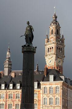 Lille - La colonne de la Déesse par Franck Vervial