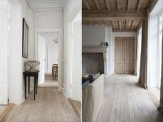 Marie Flanigan Interiors - 3 Ways to Reinvent Your Wood Flooring - Bleached Wood Floor