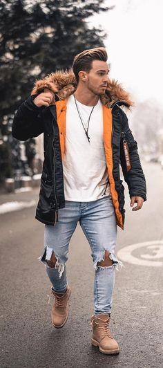 Guia de estilo masculino: Como se vestir neste inverno com estilo - Moda Inverno Mens Fashion Blog, Fashion Mode, Womens Fashion, Fashion Tips, Fashion Trends, Fashion Shirts, Ck Fashion, Fashion Basics, Fashion Blouses