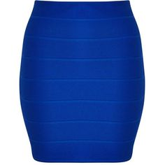 Miss Selfridge Petites Blue Rib Mini Skirt ($35) ❤ liked on Polyvore featuring skirts, mini skirts, blue, petite, ribbed skirt, petite skirts, blue mini skirt, short skirts and short blue skirt