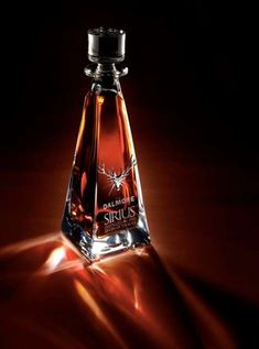 Dalmore's Sirius Single Malt is a 1951 vintage Scotch whisky. Not a beer bottle but. Cigars And Whiskey, Scotch Whiskey, Whiskey Bottle, Whiskey Girl, Beer Bottle, Alcohol Bottles, Liquor Bottles, Rum, Alcoholic Drinks