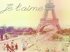 paris pink | eiffel, jetaime, love, paris, pink, postcards from far away