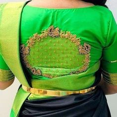 Trendy Saree Blouse Design to Try this wedding Season, Best Blouse Design, 2019 Blouse Design - Mehandi Design Kids Blouse Designs, Hand Work Blouse Design, Stylish Blouse Design, Pattu Saree Blouse Designs, Blouse Designs Silk, Bridal Blouse Designs, Blouse Patterns, Kurti Designs Party Wear, Hand Embroidery