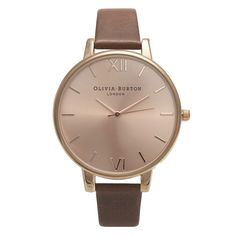 Rose gold watch - Olivia Burton from Hardtofind.