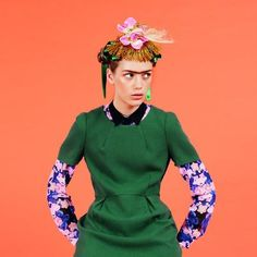 Monki 'You're an icon' campaign, look inspired by the stunning personal style of artist Frida Kahlo
