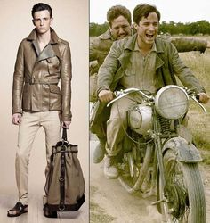 Belstaff – Motorcycle Fashion Turns Luxurious  #motorcycle_apparel #man_biker HelmetCity.com