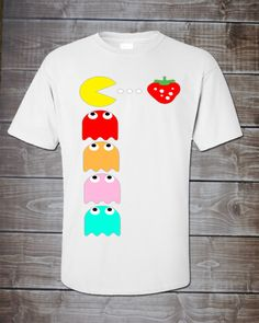 Pac-Man Adult Shirt