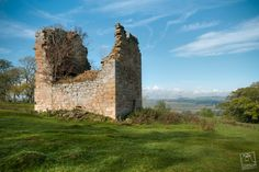 Timpendean Tower (tim-pen-deen) or Typenden Castle as it was once known, is a ruined 15th-century tower house near Lanton, around 1.5 miles (2.4 km) north-west of Jedburgh in the Scottish Borders. The land here, once part of the Bonjedward estate, was long owned by the Douglases, until it was sold in 1843 to the Scott family, farmers of Bonjedward. The tower was burned by the Earl of Hertford's men in 1545, during the War of the Rough Wooing.