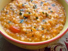 Zuppa orzo e zucca Veg Recipes, Wine Recipes, Healthy Recipes, Italian Food Restaurant, Lean Meals, Salty Foods, Best Italian Recipes, Slow Food, Vegan Dishes