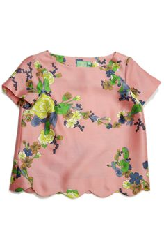 Jules Reid, The Parker top (love this style top) Fashion Kids, Love Fashion, Looks Style, My Style, Look Cool, Short Sleeve Blouse, Swagg, Spring Summer Fashion, Floral Tops