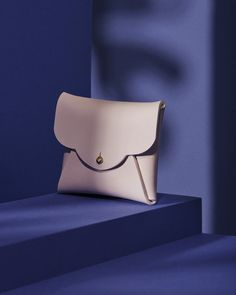 Calf Leather, Leather Bag, Good For Her, Powder Pink, Small Wallet, Single Piece, Leather Craft, Evening Bags, Calves
