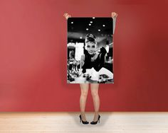 Breakfast at Tiffany's Audrey Hepburn  by classyclassicprints