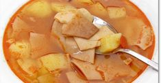 lebbencs leves Healthy Soup Recipes, Baby Food Recipes, Snack Recipes, Snacks, Cod Fish, Winter Soups, Hungarian Recipes, Slow Cooker Soup, Soups And Stews