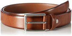 MLT Belts & Accessoires Herren Business-Gürtel London, Braun (light brown 6700), 80 cm: Amazon.de: Bekleidung