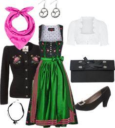 #Farbbberatung #Stilberatung #Farbenreich mit www.farben-reich.com Das richtige Dirndl für den A-Figur-Typ - Trachtenbibel