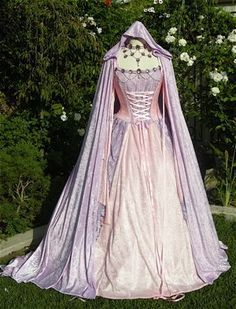 Gwendolyn Fairy Medieval or Renaissance Wedding by RomanticThreads