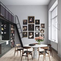 I love a good collage wall as much as the next person but I really love something different. Each of these is a great twist on the traditional collage wall.
