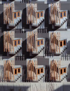 Nick Kane photography #architecture #facade Scottish Parliament, Edinburgh. Architects - Miralles Tagliabue.