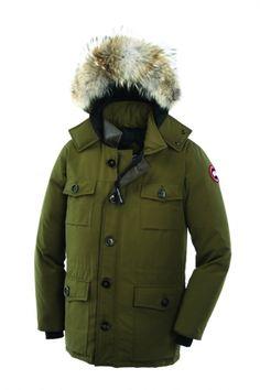 Banff Parka for men in military