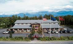 aerial-alaska-wild-berry-store.jpg  That what they look like from the outside .inside  they have a chocolate fountain a good place to take pictures. Giant stuff bears. Then it's a gift shop clothes candy covered in chocolate made right there little figurines. It's a must stop shop
