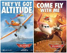New Disney Planes Character Posters (In Theaters August 9)