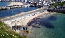 Ben My Chree Beach Holiday Cottage, Peel, Isle of Man, Self Catering Holiday Accommodation England.