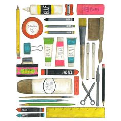 Lisa Congdon Art + Illustration » art supplies