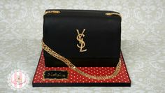 YSL Clutch - Cake by Sweet Surprizes