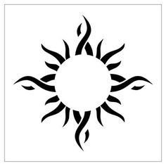 Tribal Sun Tattoos Are In Most Cases Relegated As Spiritual Tattoos. Tribal Sun Tattoo Mostly Preferred Design By Tattoo Lovers Health. Moon Sun Tattoo, Sun Tattoos, 1 Tattoo, Trendy Tattoos, Popular Tattoos, Back Tattoo, Tattoos For Guys, Tattoo Neck, Tattoos Pics