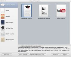 project templates getting started - Scrivener Resume Template