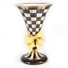 MacKenzie-Childs - Courtly Check Large Vase