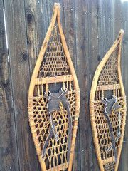 Antique Cree Indian Snowshoes