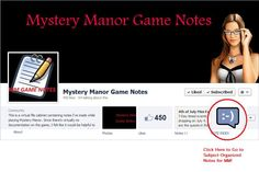 MM Game Note Link to Facebook