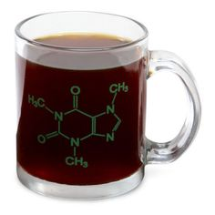 $8, thinkgeek.com Cement your dedication to caffeine — your favorite molecule — by proudly displaying it on your mug. You'll let people know that you need your coffee to function properly and subtly let your science-geek flag fly at the same time. More: 11 Fun Mugs for Coffee Lovers