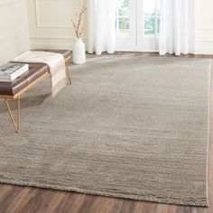 Shop for Safavieh Loomed Knotted Himalayan Solid Grey Wool Rug (8' x 10'). Get free shipping at Overstock.com - Your Online Home Decor Outlet Store! Get 5% in rewards with Club O!