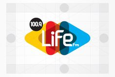 IDENTIDAD Life 100.9 FM by PAOLA FLORES, via Behance