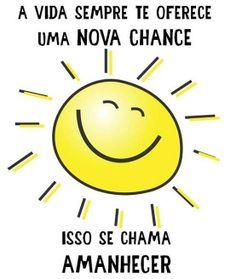 """""""Bom Dia...Hoje é sábado, dia de curtir a cama mais um pouquinho, ficar de preguiça ou então acordar naturalmente mais cedo e aproveitar todo o seu tampo com lazer e afazeres pessoais, eu me incluo na ultima rsrsrsrsrsr!!!! Aqui em Santos-SP tá uma manhã maravilhosa,e eu estou animadíssima e radiante como o sol que está brilhando lá fora! Espero que cada um de vocês acorde assim hoje com o seu sol interior brilhando, se sentindo iluminado..!!!"""""""